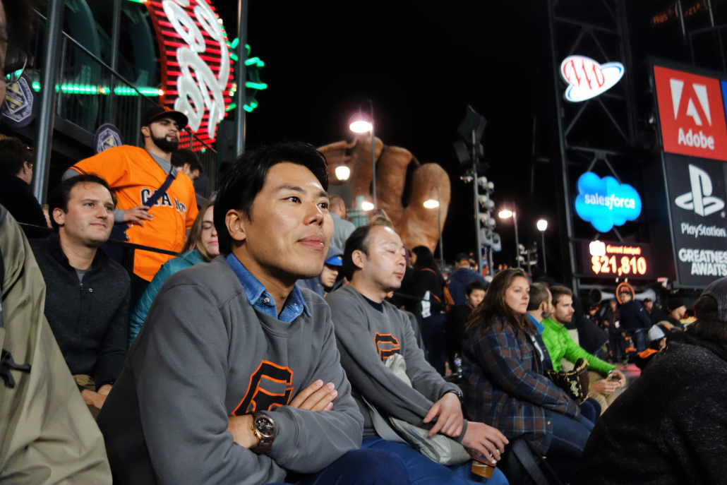 SF Giants Game_Innovative Energy Japan